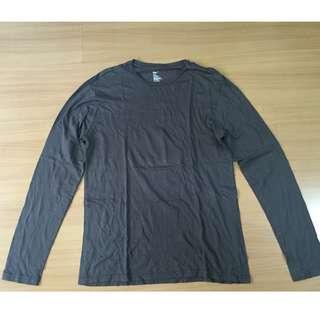 Gap Gray Long Sleeved Shirt for Men (Authentic)