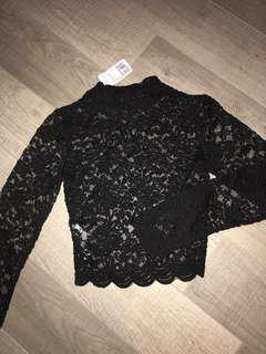 Brand new Lace shirt forever 21
