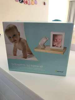 BNIB Babyprints 3D Frame Kit