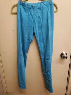 Uniqlo Pants Jeggings blue