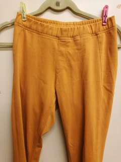 Uniqlo Pants Jeggings Orange Mustard