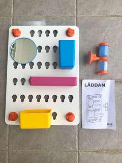 IKEA Kids Toiletries wall organiser