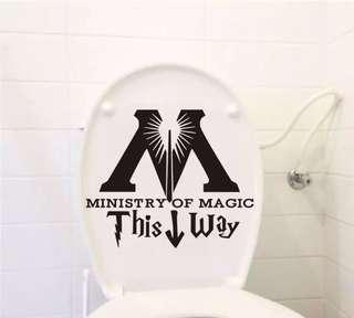 Instock Harry Potter Ministry of Magic Decal Sticker