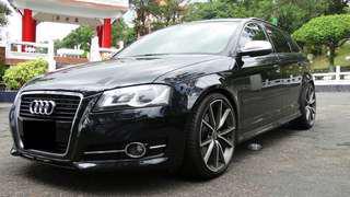Audi A3 Sportback 2.0TFSI   6x萬