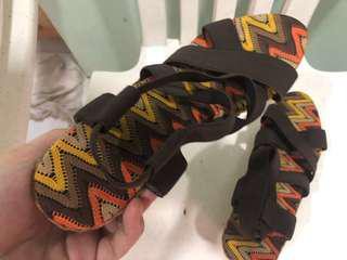 Preloved- Wedge sandals (laguna made)