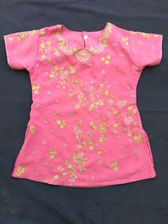 Embroidered Top or Blouse for Girls or India Costume