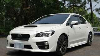 2016 Subaru WRX Sport Lineartronic 原廠保固、原版件