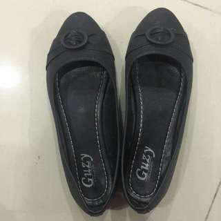 Flat Black Shoes