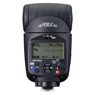 Canon Speedlite 470EX-AI 閃光燈 閃燈