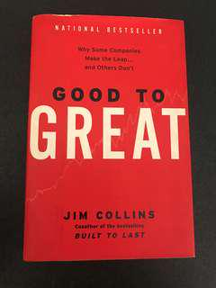 Good To Great by Jims Collins