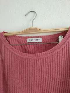 Preloved sweater boxy sweater steddy thestedddy