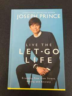 Brand New Live The Let-Go Life Book by Joseph Prince