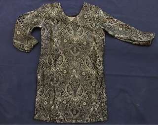 Black Tunic or Costume for Boys