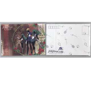 全新 台版 白貼 SAILOR MOON 美少女戰士 Crystal水晶明信片D款