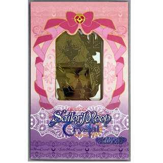 全新 台版 白貼 SAILOR MOON 美少女戰士 Crystal金屬書籤 (美智留)