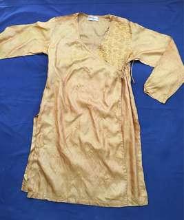 Silk India Kurta for Women (Size M)