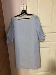 3Q sleeve dress