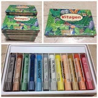 ($10for12Pk) BNIP Vitagen Oil Pastel