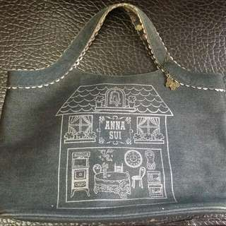 Anna Sui denim bag