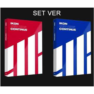 [PREORDER] [SET] iKON Mini Album - New Kids : Continue