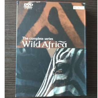 The Complete Series - Wild Africa - 3DVD (廣東話 Cantonese)