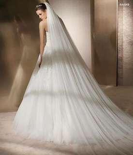 Wedding long veil bridal veil 結婚 長頭紗