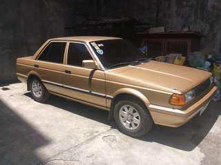 1990 Gold Nissan Sentra SGX  3M Tint Manual Gasoline Sedan Car