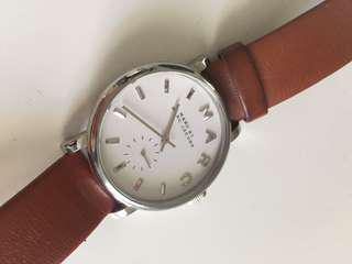 Marc Jacobs Brown Leather Watch
