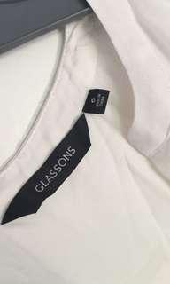 White interview shirt