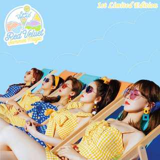 [PREORDER] RED VELVET Summer Mini Album - Summer Magic [1st Limited Edition]