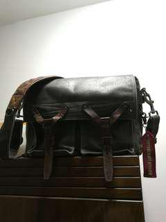 Wotancraft scout camera leather bag