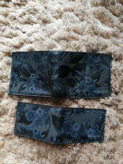 Coach wallet hawaiin blue