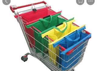 Shopping Trolley Organizer