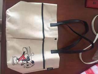 Snidel Tote Disney Mickey Mouse Edition Bag