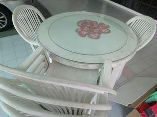 FREE to give away - Outdoor Table and Chair set