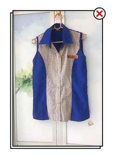 Blue Collared Shirt