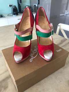 Authentic Christian Louboutin 38.5