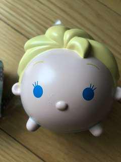 Elsa Disney Frozen eco shopping bag and keychain