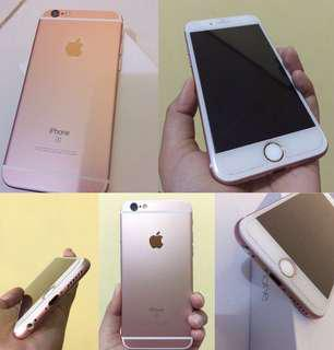 Iphone 6S 128Gb warna rosegold