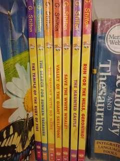 Geronimo Stilton books #14 #25 #26 #32 #45 #46 #47