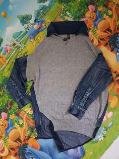 Kintted Demin sweater or top
