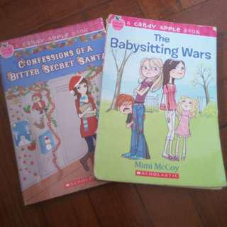 The babysitting  wars and confessions of a bitter secret santa
