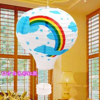 🚚 Paper HOT Air Balloon Deco for Birthday parties/Baby showers