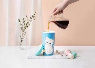 Starbucks Paul & Joe Double Walled Ceramic Mug