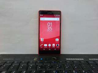 Sony Xperia Z3 compact Red Color