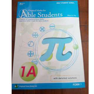 Original maths for able students 1A