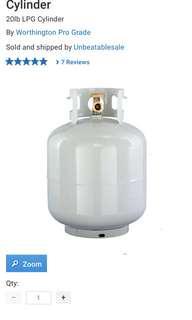 Propane Gas Tank