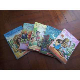 Goddess girls (five books )