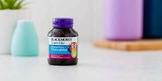 BLACKMORES  SUPERKIDS OMEGA BRAIN CHEWABLES 兒童魚油咀嚼片