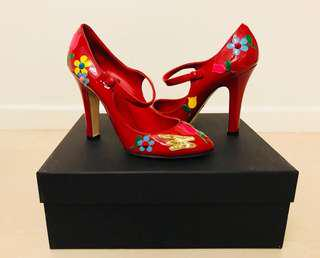 Dolce & Gabbana Heels - Red - Pre-Loved